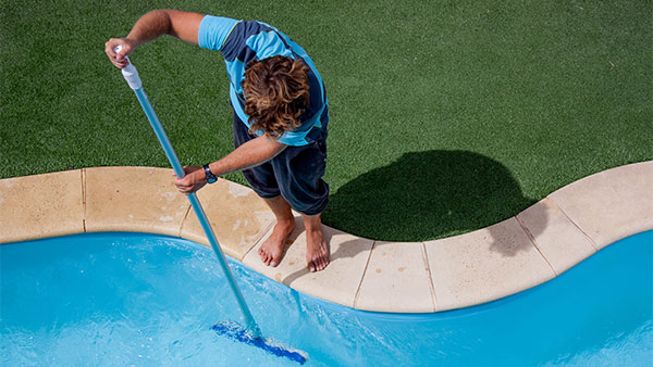 Cleaning your pool is in the spring