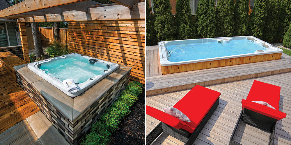 ways to improve privacy around your hot tub